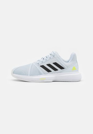 COURTJAM BOUNCE CLAY - Allcourt tennissko - footwear white/core black/halo blue
