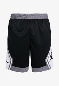Jordan - JUMPMAN STRIPED SHORT - Sports shorts - black/gunsmoke/white - 3
