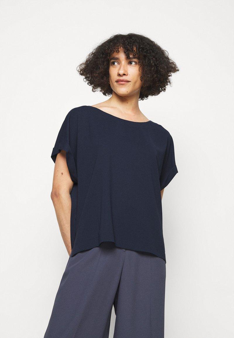 HUGO - CAJESA - Blouse - open blue