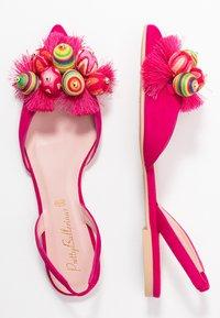 Pretty Ballerinas - Slingback ballet pumps - fuxia/coco - 3
