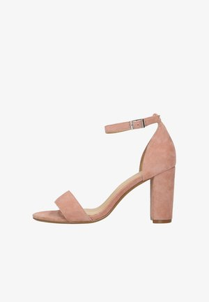 High heeled sandals - rosé