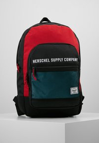 Herschel - KAINE - Batoh - black/red - 0