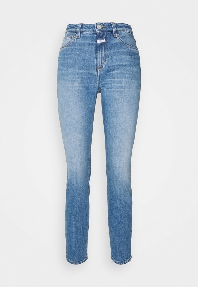 BAKER HIGH - Jeans Slim Fit - mid blue