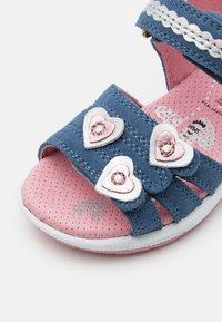 Superfit - EMILY - Sandals - blau/rosa - 5