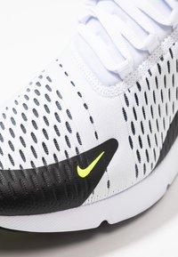 Nike Sportswear - AIR MAX 270 - Trainers - white/volt/black/laser fuchsia - 5