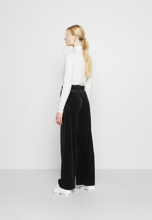 CLEO PARTY TROUSERS - Pantalon classique - black dark