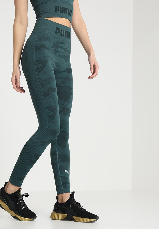 EVOKNIT SEAMLESS LEGGINGS - Collants - ponderosa pine