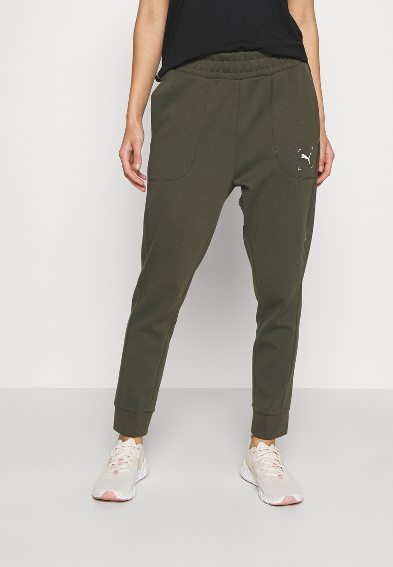 Puma - NU-TILITY PANTS - Pantaloni sportivi - forest night