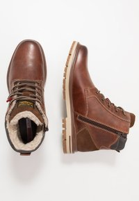 s.Oliver - Lace-up ankle boots - brown - 1