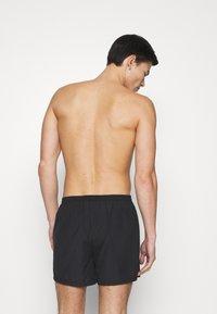 Pier One - 5 PACK - Boxershorts - black/khaki/dark grey - 1