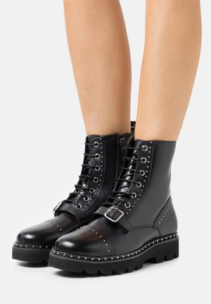 WINSLET  - Lace-up ankle boots - black