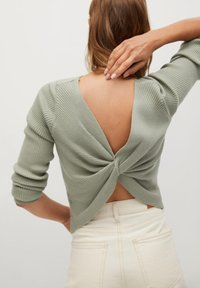 Mango - MARGOT - Jumper - pastel green - 2