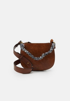 CROSSBODY BAG ZINNIA - Across body bag - camel