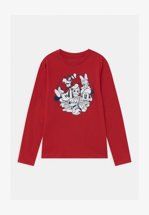 BOY DISNEY MICKEY MOUSE & FRIENDS  - Long sleeved top - modern red