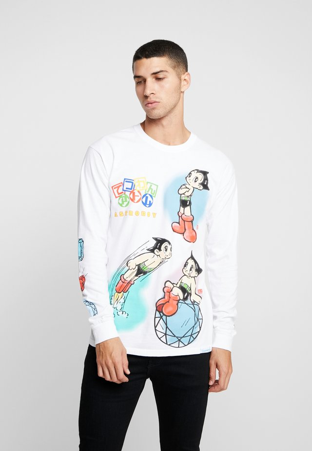 ASTRO BOY COSMIC RANGER TEE - Long sleeved top - white