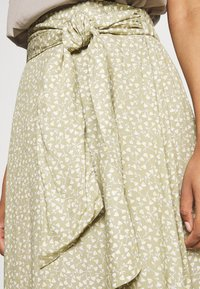 Monki - A-line skirt - beige - 4