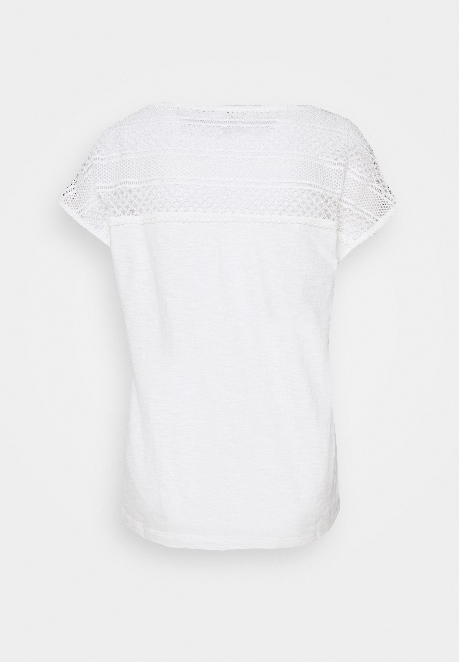 S.oliver T-shirts - Cream/offwhite