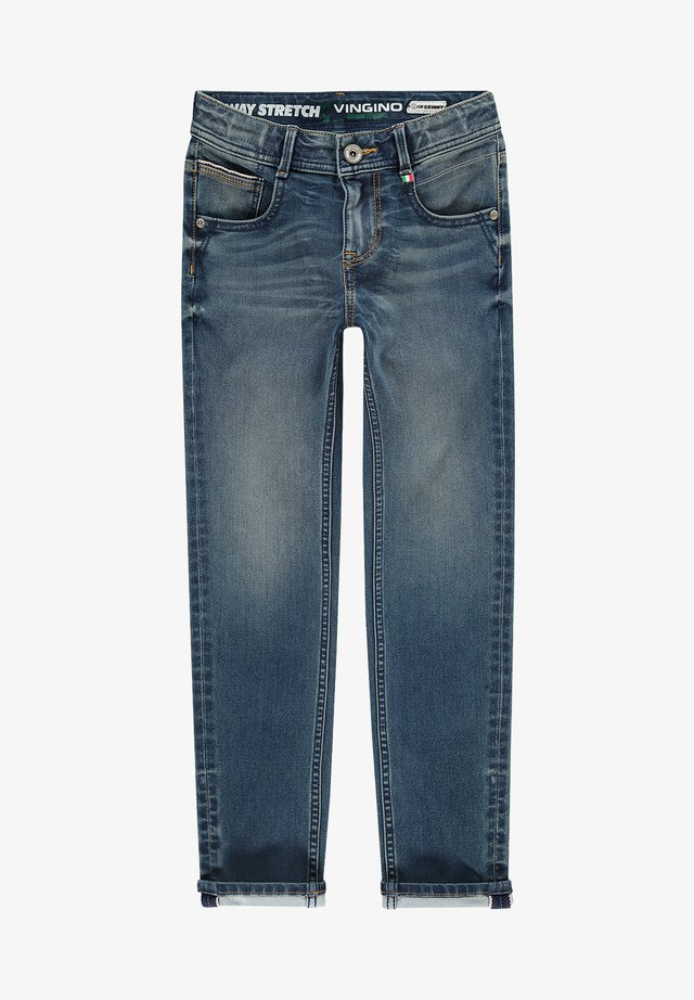 ALFONS - Jeans Skinny Fit - mid blue wash