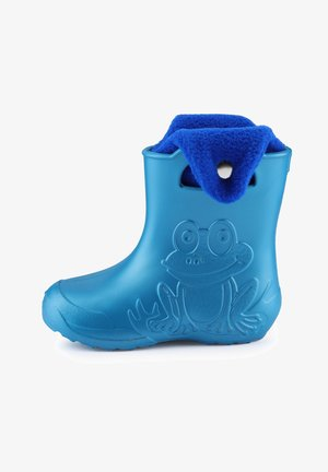 Wellies - metallic blue/navy