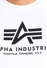 Alpha Industries - Sweatshirt - weiss - 3
