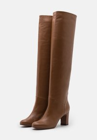 L'Autre Chose - NO ZIP - Over-the-knee boots - camel - 2