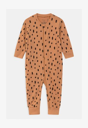 CAT AT BACK UNISEX - Pyjamas - dark beige