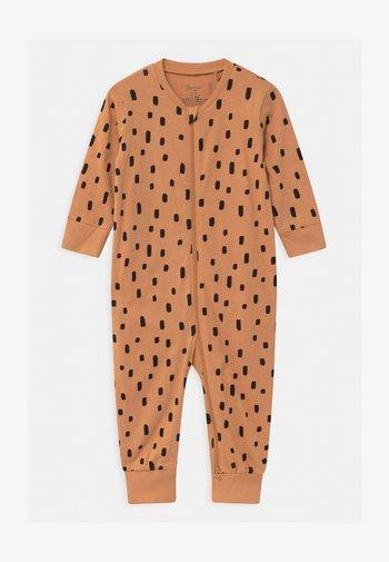 CAT AT BACK UNISEX - Pyjamas - dark beige
