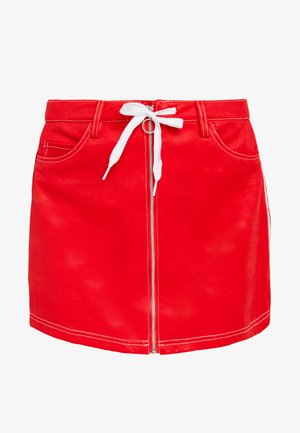 Minifalda - red