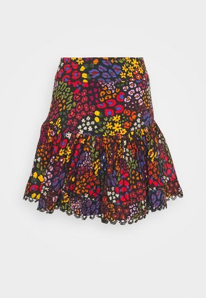 WILD MIX MINI SKIRT - Minisukně - multi