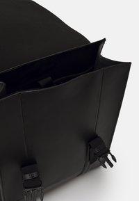 Zign - LEATHER UNISEX - Rucksack - black - 4