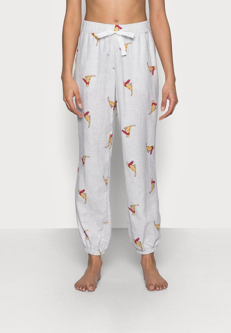 GAP - Pyjama bottoms - grey snow