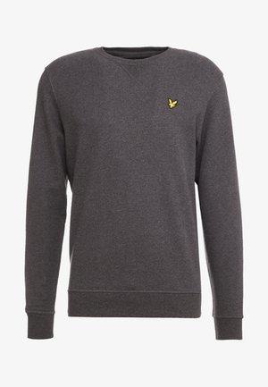 CREW NECK - Sweatshirt - charcoal marl