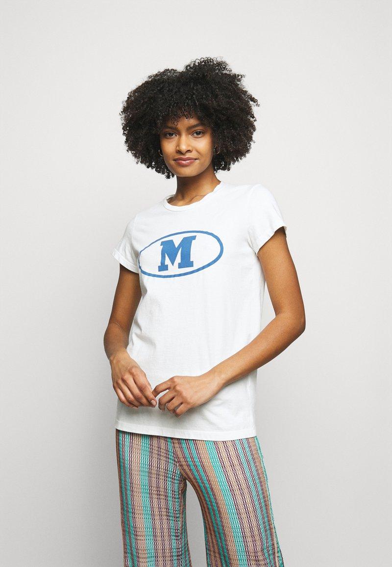 M Missoni - Print T-shirt - white