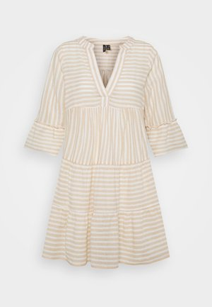VMISABELL DICTHE - Day dress - snow white/gold