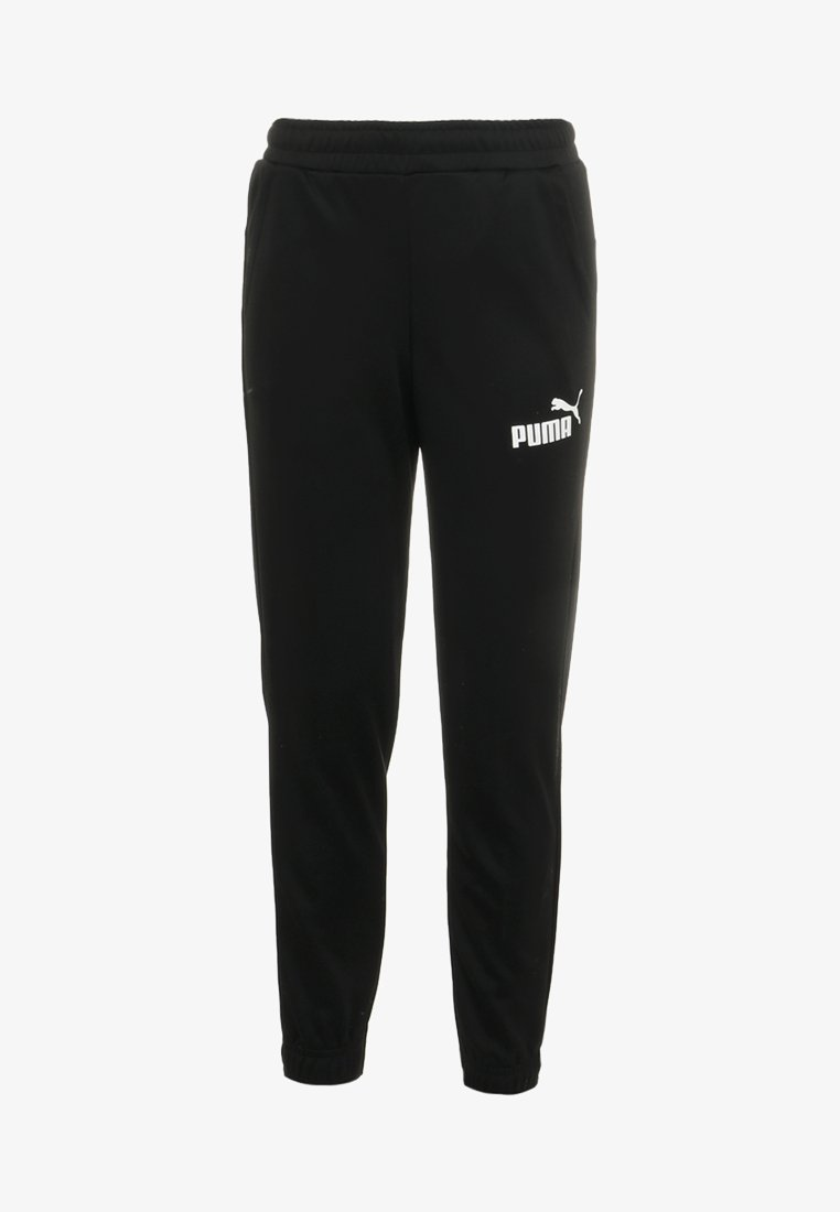 Puma - LOGO PANTS - Tracksuit bottoms - black