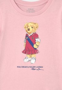 Polo Ralph Lauren - BEAR - Print T-shirt - hint of pink - 2