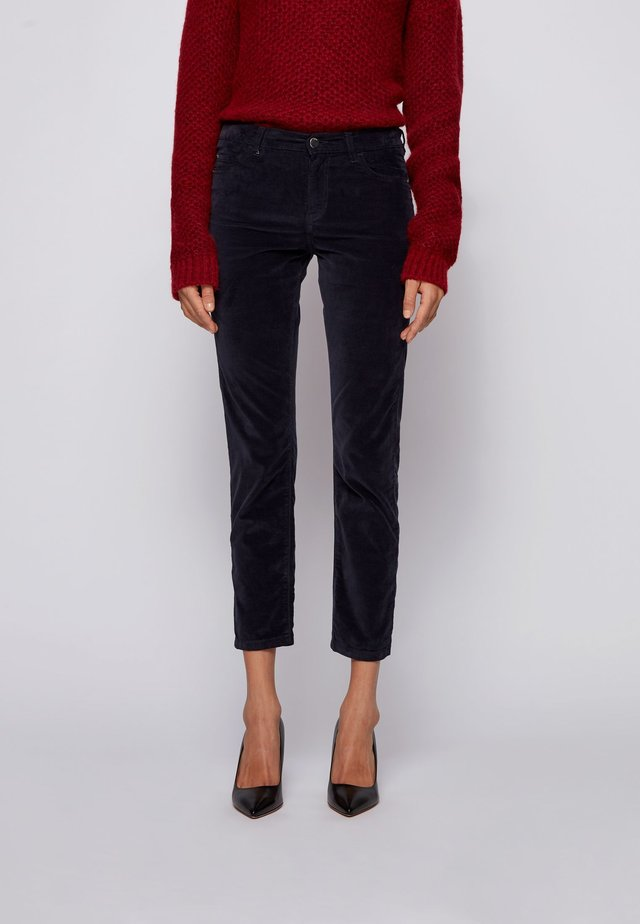SLIM CROP 1.0 - Slim fit jeans - open blue
