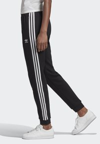 adidas Originals - SLIM CUFFED JOGGERS - Tracksuit bottoms - black - 2