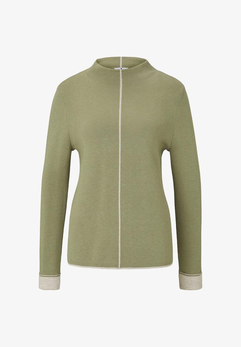 TOM TAILOR - Jumper - greyish green