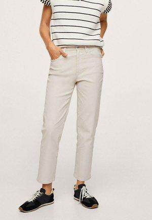 Jeans Straight Leg - ecru