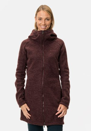 WOMENS TINSHAN COAT III - Fleece jacket - cassis