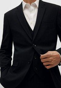 Mango - PAULO - Blazer jacket - schwarz - 5