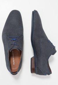 Floris van Bommel - HAKKI - Eleganckie buty - dark blue - 1