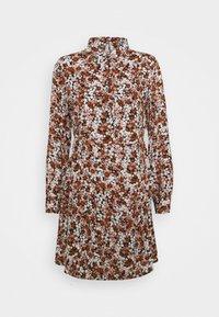Pieces Petite - PCFRIDINEN DRESS - Shirt dress - mocha bisque - 4