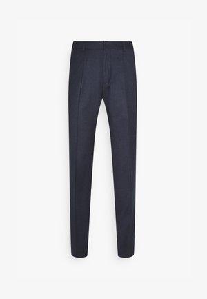 HESTEN - Oblekové kalhoty - medium blue