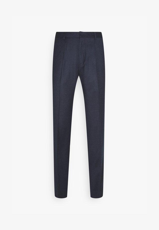 HESTEN - Suit trousers - medium blue