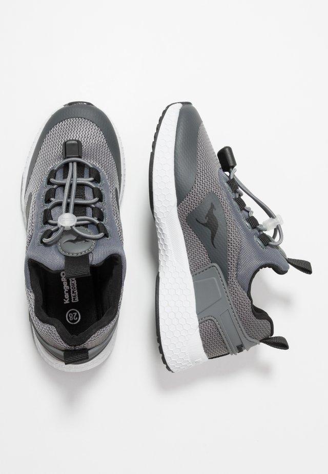 KADEE BOP - Baskets basses - steel grey/jet black