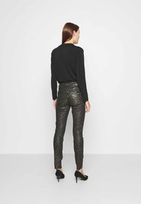 Mos Mosh - SUMNER ANIMAL COATED  - Jeans Skinny Fit - gold - 2