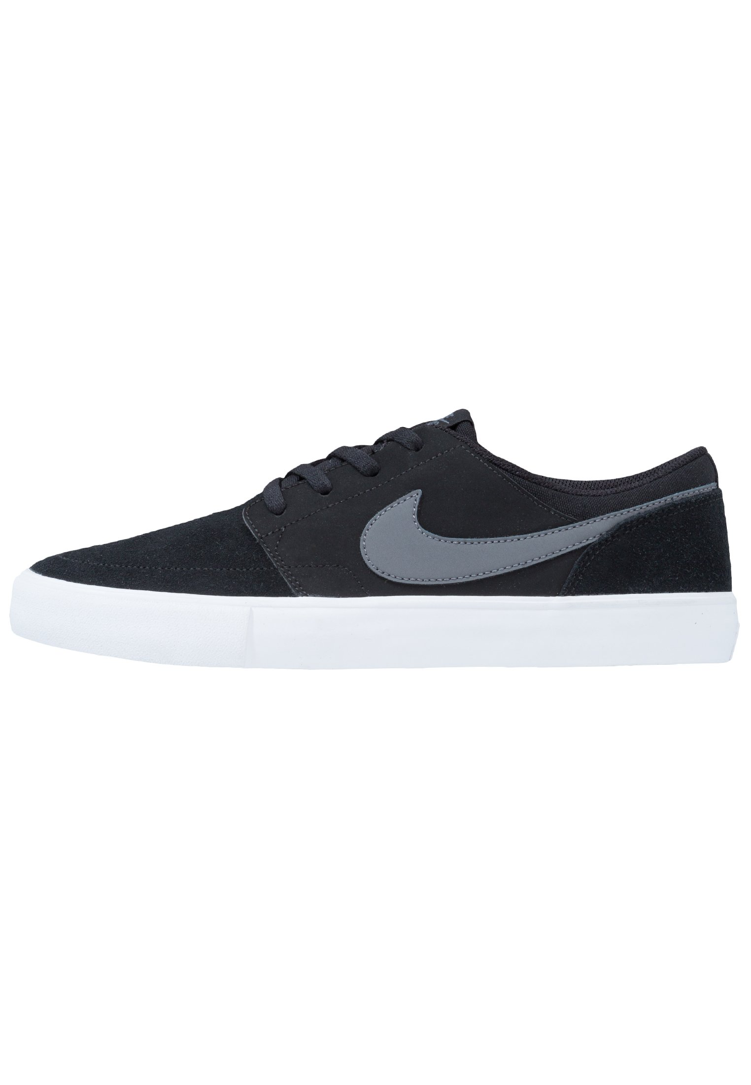PORTMORE II SOLAR - Chaussures de skate - black/dark grey/white