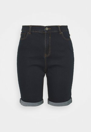 Denim shorts - indigo